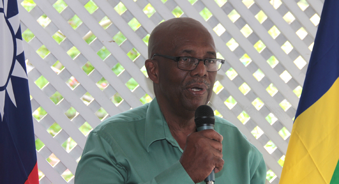 Leader Of The Opposition, Arnhim Eustace At Friday'S Luncheon. (Iwn Photo)