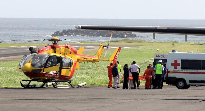 Cornelia Quashie Was Airlifted Overseas On Thursday. (Iwn Photo)