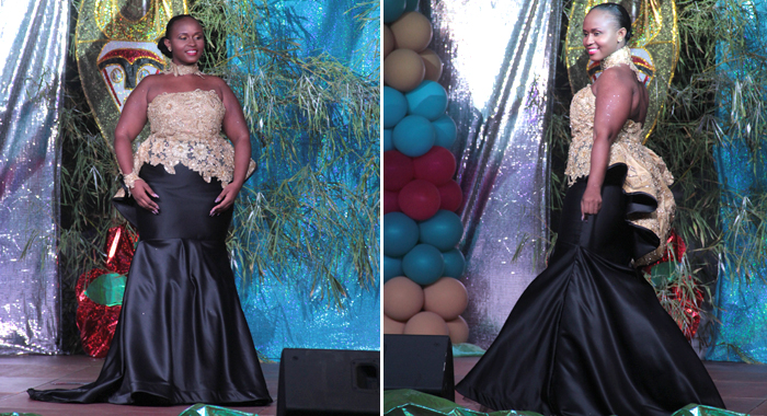 Best Evening Wear: Zakiyah Mofford -- Miss Touch Of Pearl. (Iwn Photos)