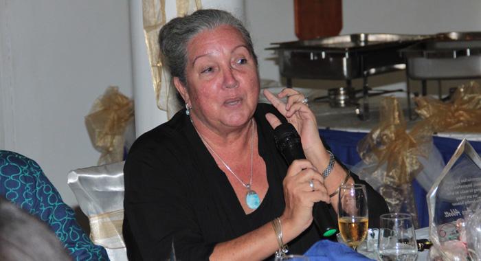 Cassy-Ann Abbott Encourage Her Former Students To Send Their Children And Grandchildren To Catholic School. (Iwn Photo)