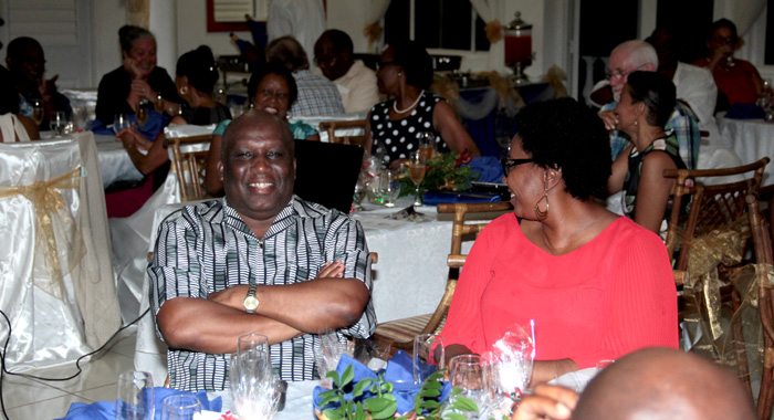 Minister Of Education, Jimmy Prince, Was Once A Teacher At Sjck And Was Invited To The Event. (Iwn Photo)