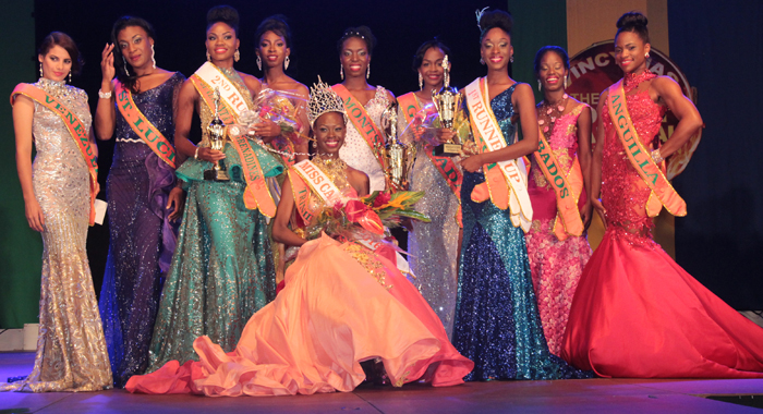 Contestants In The Miss Carival 2016 Pageant. (Iwn Photo)