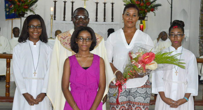 Archdeacon Nichols And His Family.