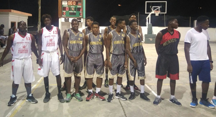 Rising Stars Basketball Team.