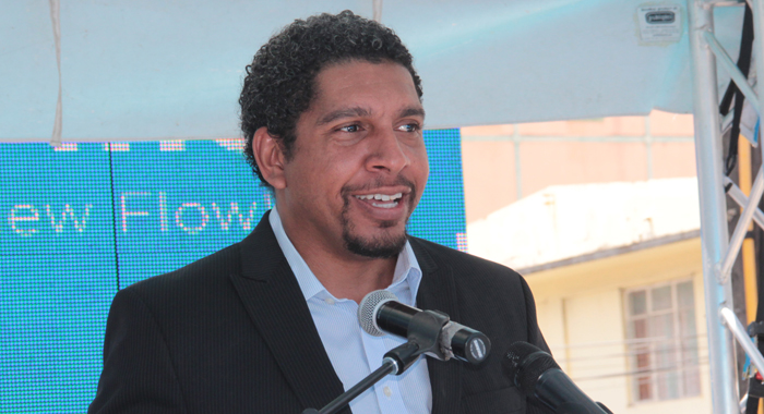 Minister Of Industry And Information, Camillo Gonsalves Welcomed The New Store. (Iwn Photo)
