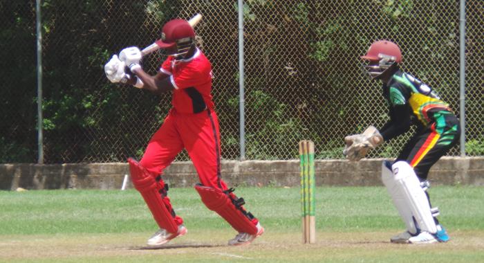 Keagan Simmons Scored 99 For Trinidad (File Photo).