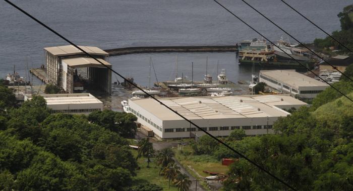 Ottley Hall Marina And Ship Yard. (Iwn Photo)