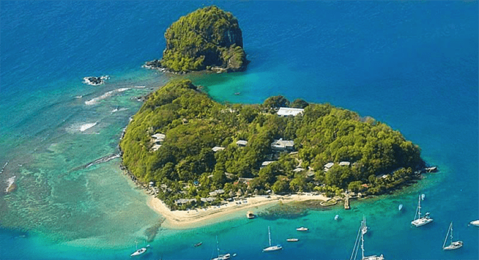 Young Island, Technically Part Of The Grenadines But A Stone's Throw From Svi.