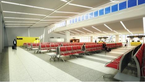 Nacalas International Airport In Mozambique