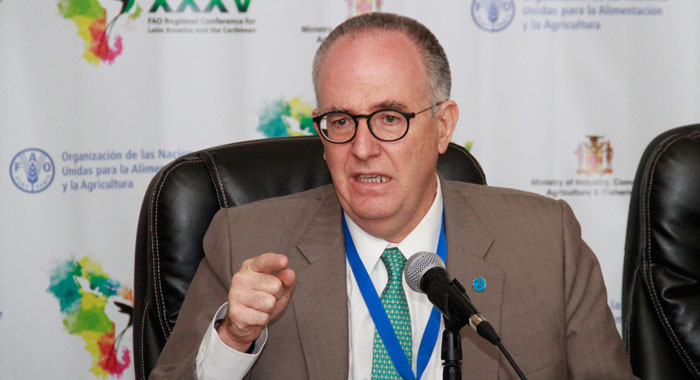 Julio Berdegue%Cc%81 Assistant Director General Of The Fao Regional Representative For Latin American And The Caribbean Cmc Photo