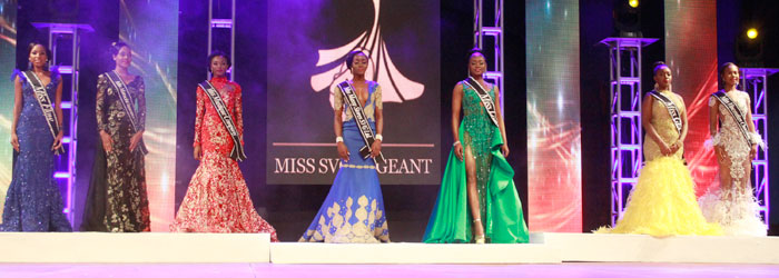 Miss Svg 2018 Evening Wear