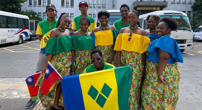 Vincy Students In Taiwan National Day