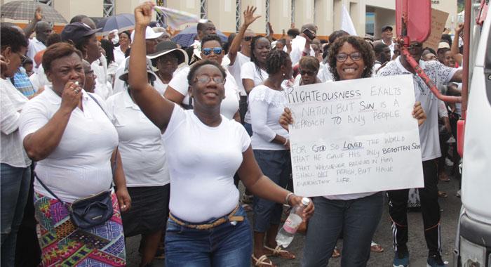 Anti Lgbtq Demonstrators