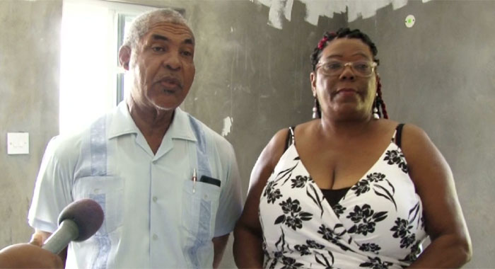 Minister Of Housing Montgomery Danile Bequia Resident Yvonne Ollivierre 1
