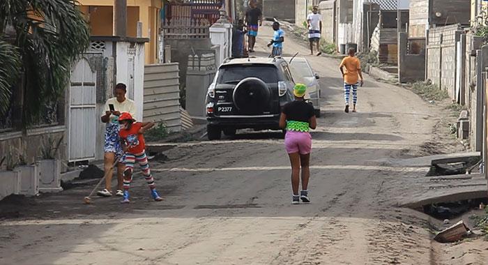Ash Along The Street Of Bagga