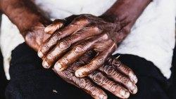 Hand Of Elderly