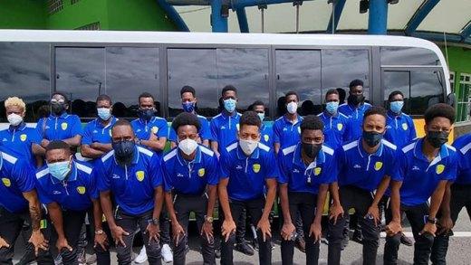 Vincy Heat Delegation To Grenada