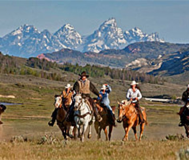 Goosewing Ranch A True Wyoming Experience