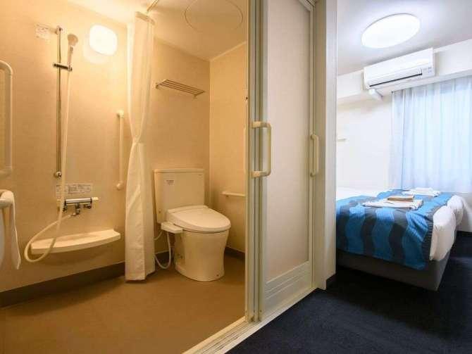 【ホテルソビアル大阪ドーム前】バリアフリールーム(ツイン・19平米)バスルーム