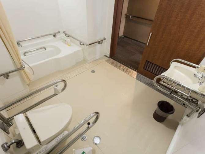 那須高原【ホテル グリーンパール那須】ツインルーム(バリアフリータイプ バス・トイレ付)バスルーム