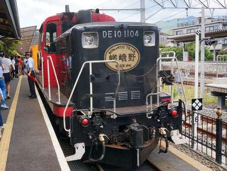 【ホテルビナリオ嵯峨嵐山】トロッコ列車の始発駅すぐ近くです