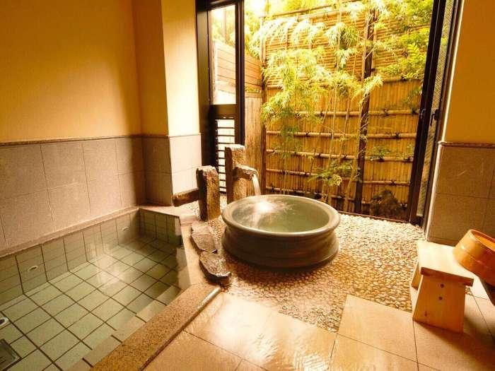 【瑞の里〇久旅館】貸切風呂「おしどり」