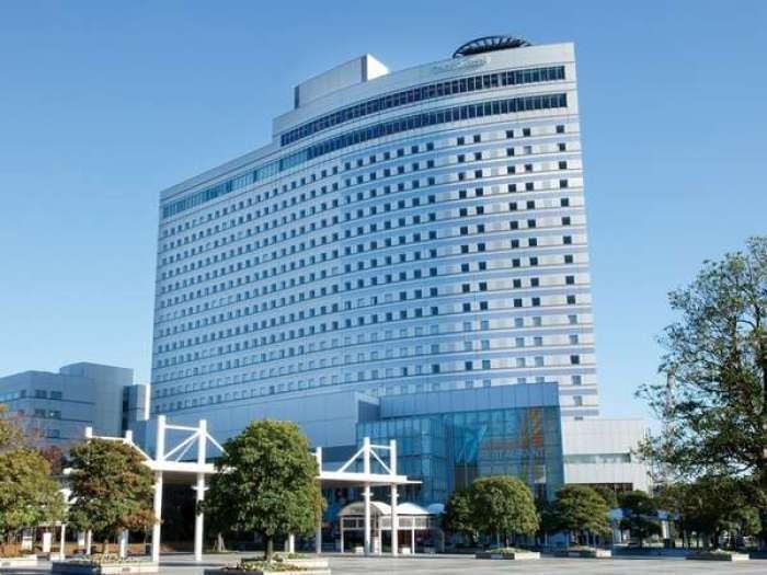 東京ベイ有明ワシントンホテルの外観