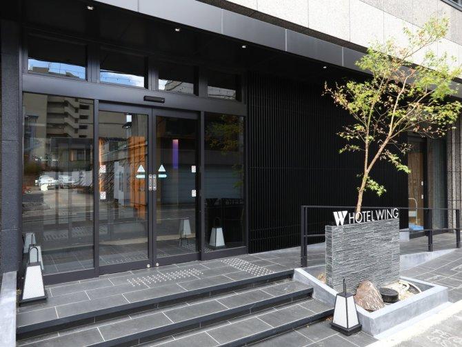 【ホテルウィングインターナショナル京都 四条烏丸】外観