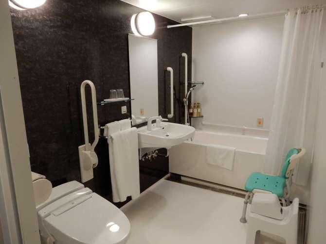 ホテルビスタ金沢のユニバーサルツイン バスルーム