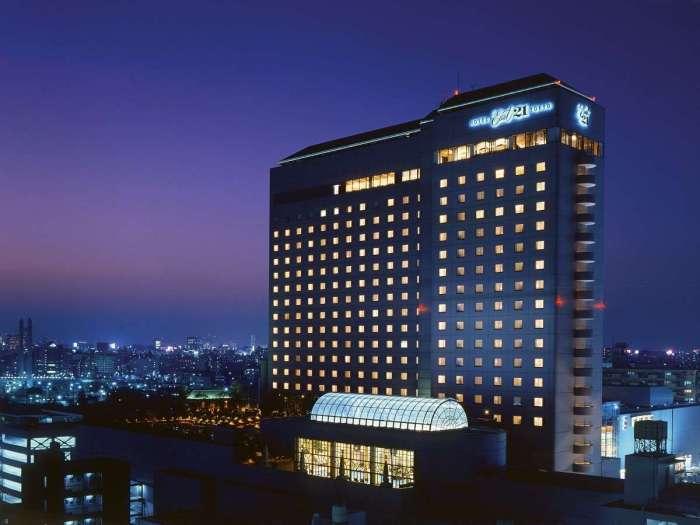 ホテルイースト21東京の外観