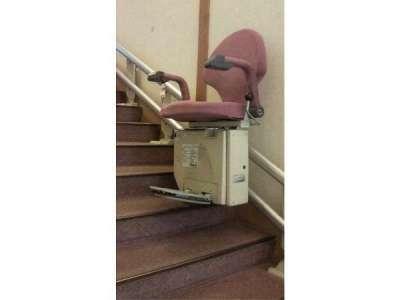 【ホテルふせじま】大浴場手前の階段の昇降機