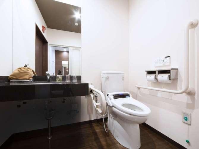 ホテルマイステイズプレミア金沢のアクセシブルツイン【トイレ】
