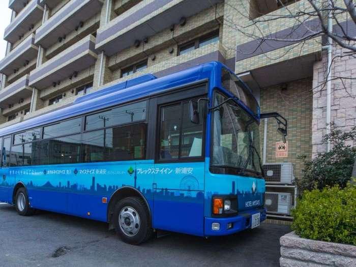 ホテルマイステイズ舞浜(東京ディズニーリゾートへのシャトルバス)