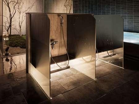 【京都グランベルホテル】大浴場の洗い場