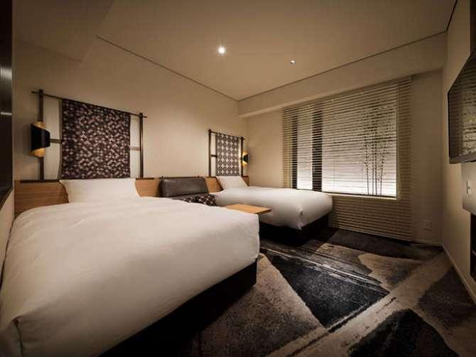 【京都グランベルホテル】ユニバーサルツインルーム(23平米)