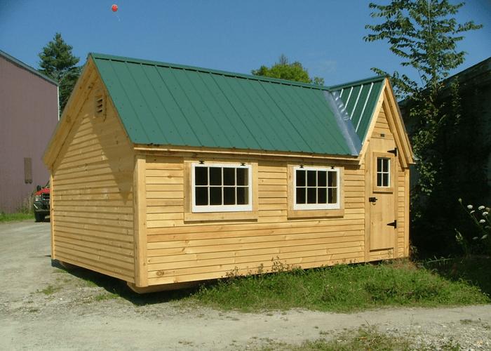 Large Backyard Sheds