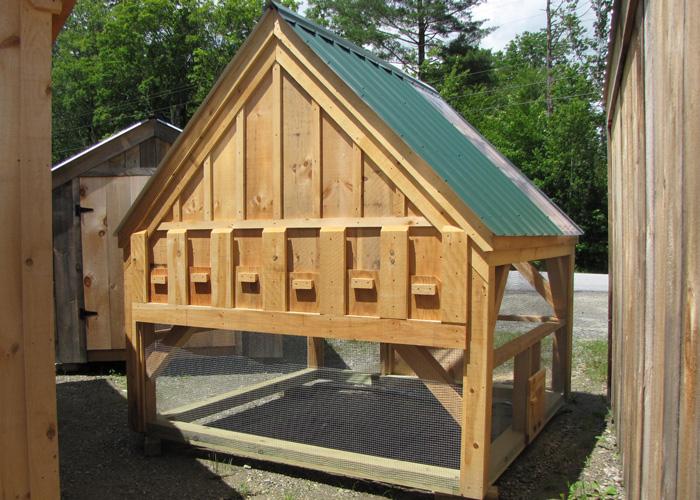 Building Garden Storage Box