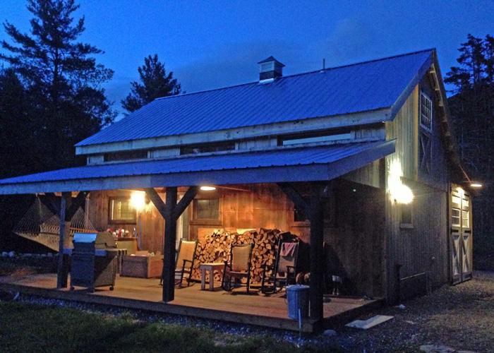 Kits For 20 X 30 Timber Frame Cabin Jamaica Cottage Shop