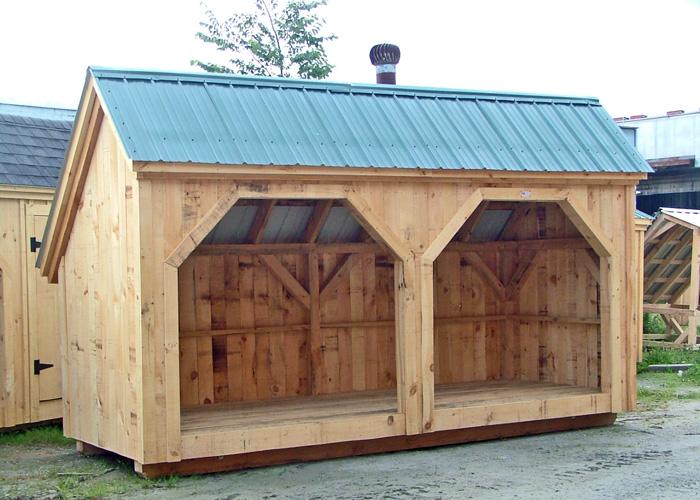 Woodbin 6x Wood Shed Plan Jamaica Cottage Shop