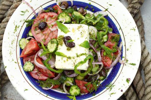 greek salad header
