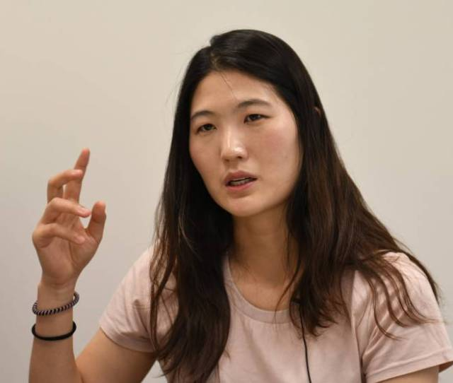 Former Tennis Player Kim Eun Hee Speaks During An Interview In Seoul On May  Kim Waived Anonymity To Reveal How Many Athletes In South Korea Have