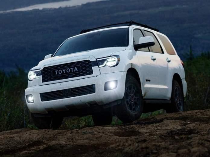 2020 Toyota Sequoia TRD Pro photo
