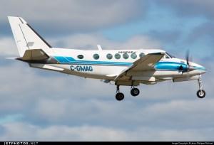 CGMAG | Beechcraft A100 King Air | Grondair | Jean