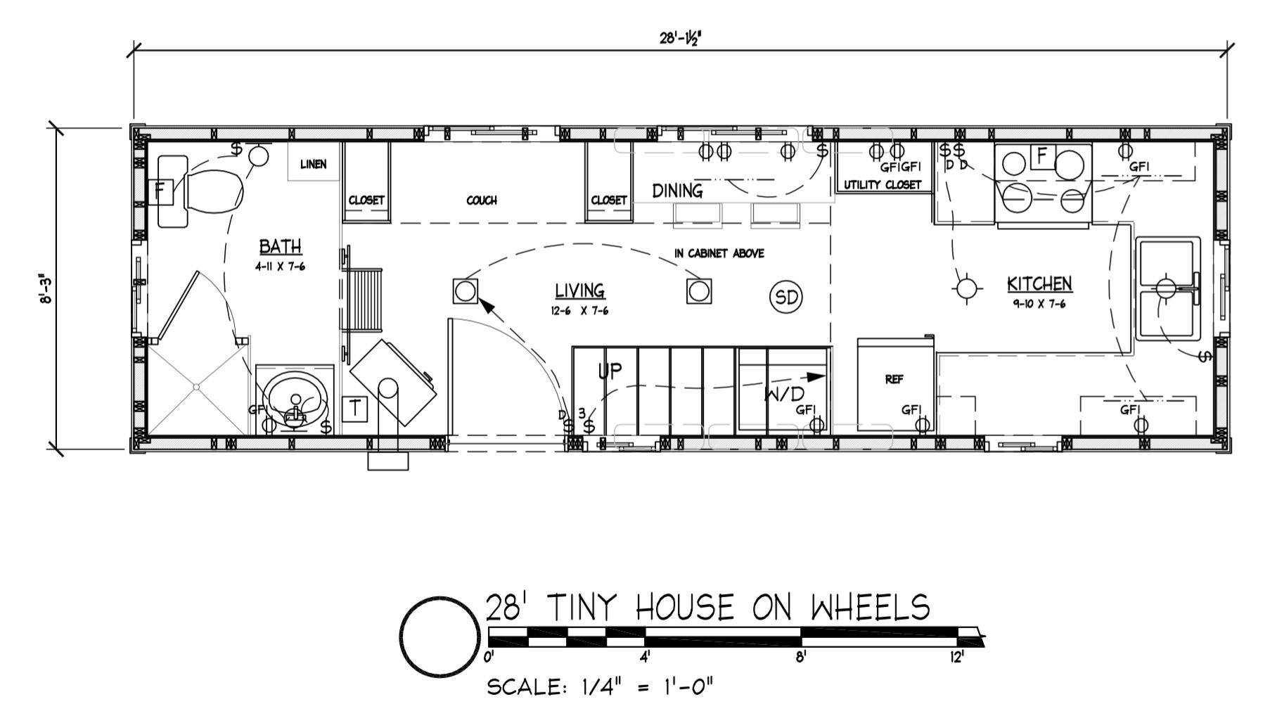 Create Your Own Tiny House Floor Plan
