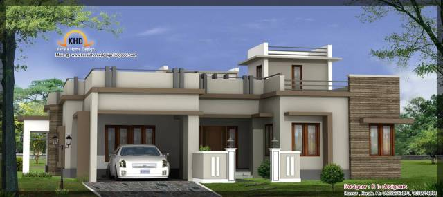 New House Design Single house elevation design for single floor : brightchat.co