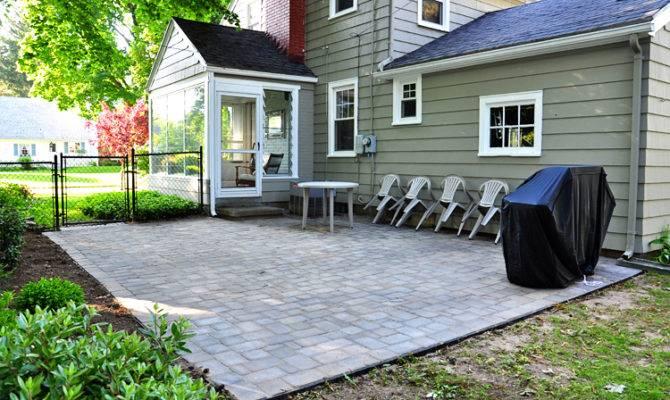 patio lowes miller brick pavers