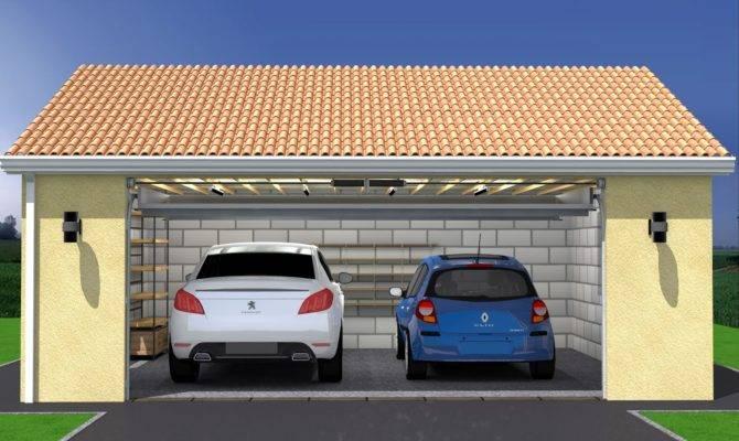 plan maison avec garage double house