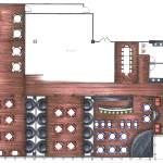 Restaurant Layout Cad Home Design Ideas Essentials House Plans 105359