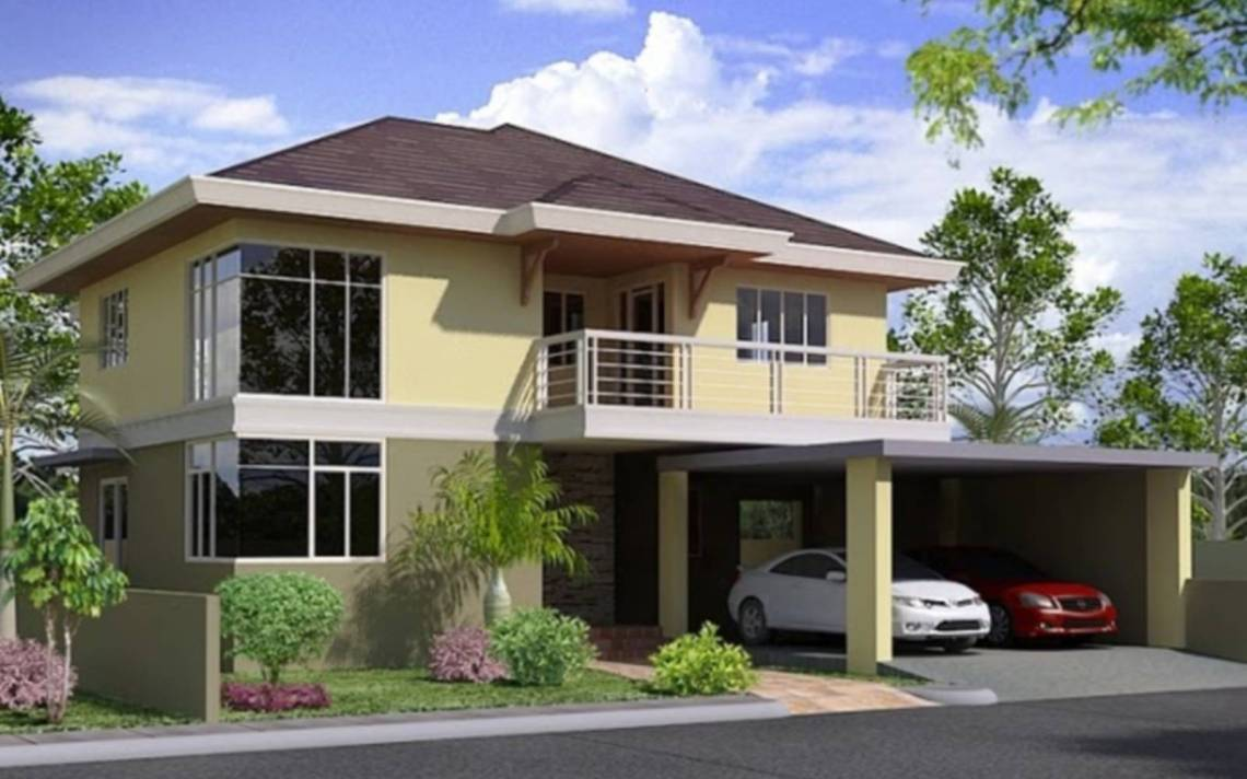 Storey House Design Philippines Modern Plan - House Plans ...