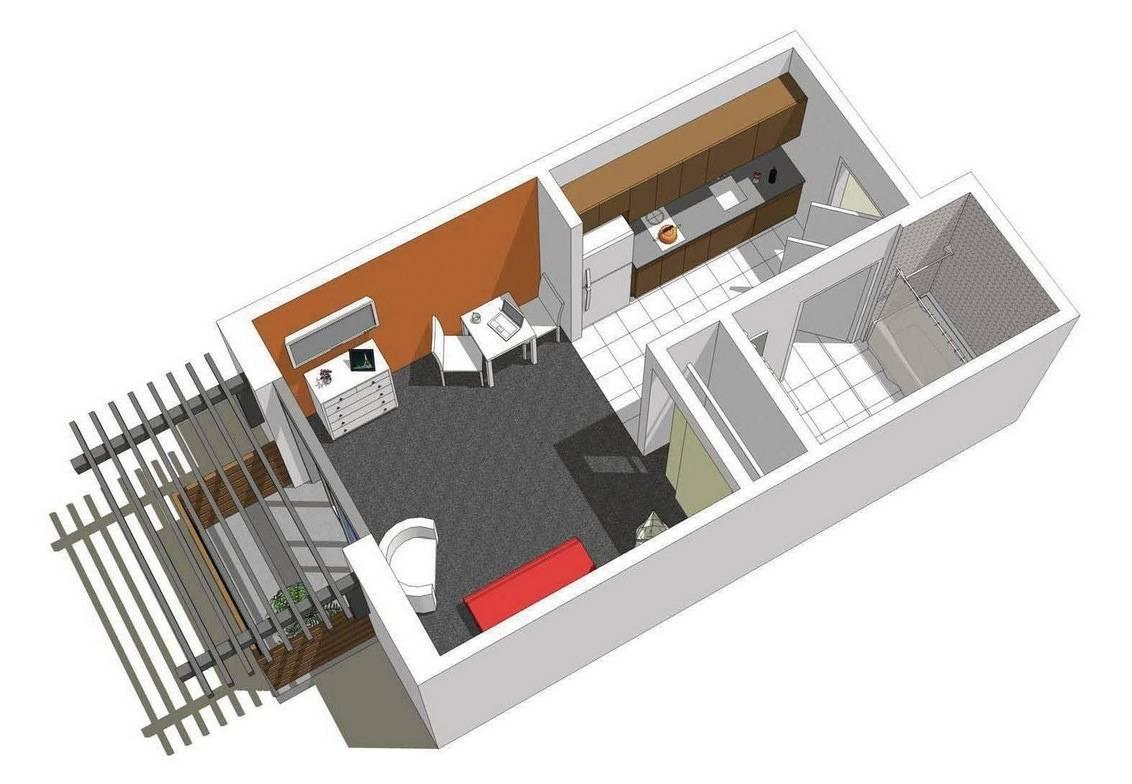 Studio Apartment Floor Plans House Plans 110314